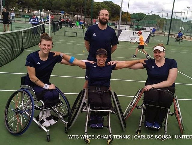 Shuker, the wheelchair tennis star we are so proud to sponsor, helped Great  Britain to seal a 2-1 victory over Russia in the BNP Paribas World Team ...