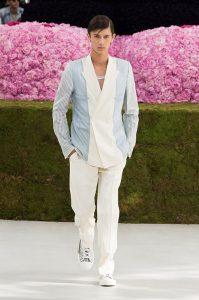 Dior Hommes s/s19 mens show wimbledon white